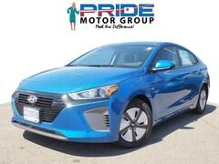 2018 Hyundai Ioniq Hybrid Blue Hatchback