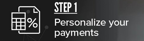 Step 1: Personalize your payments - Prima Mazda
