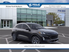 New 2021 Ford Escape Titanium Hybrid SUV in Auburn, MA
