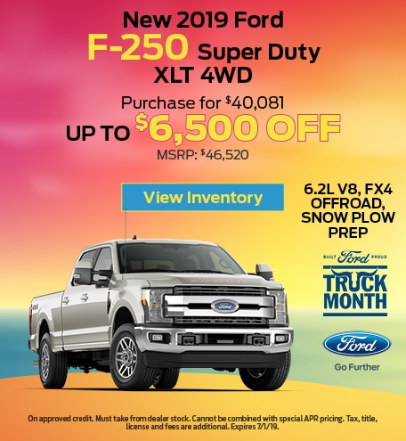 New 2019 Ford F-250 Super Duty XLT 4WD