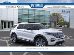New 2021 Ford Explorer Platinum SUV in Auburn, MA