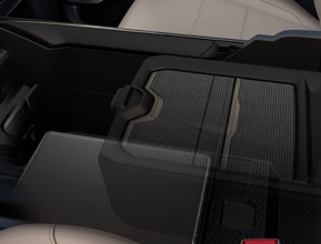 CLASS-EXCLUSIVE RECONFIGURABLE CENTER CONSOLE