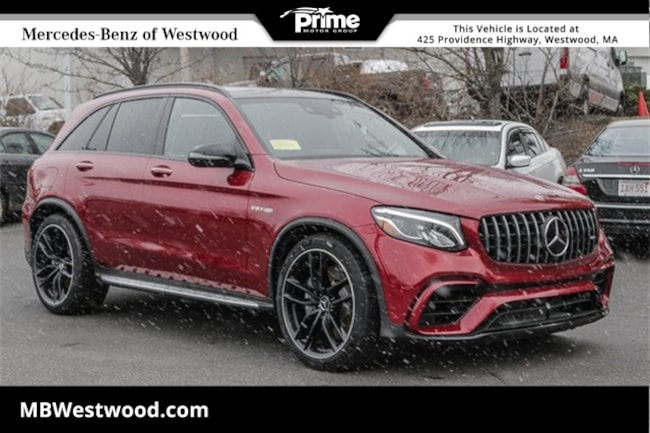 2019 Mercedes-Benz AMG GLC 63 SUV 4MATIC SUV