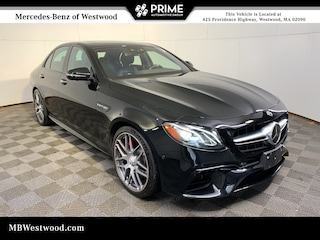 2018 Mercedes-Benz AMG E 63 S 4MATIC Sedan