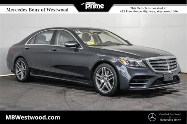 2018 Mercedes-Benz S-Class S 450 Sedan