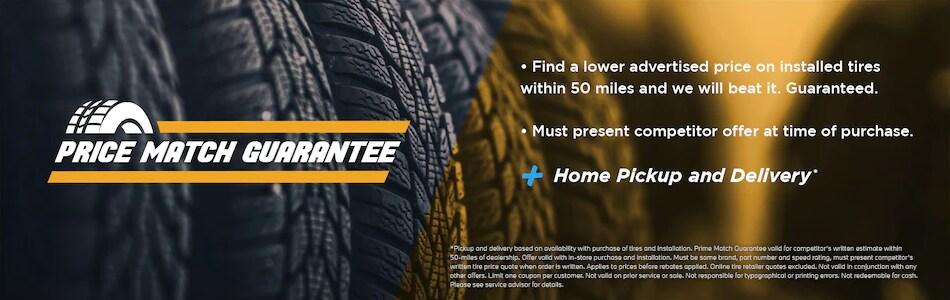 Tire Price Match Guarantee