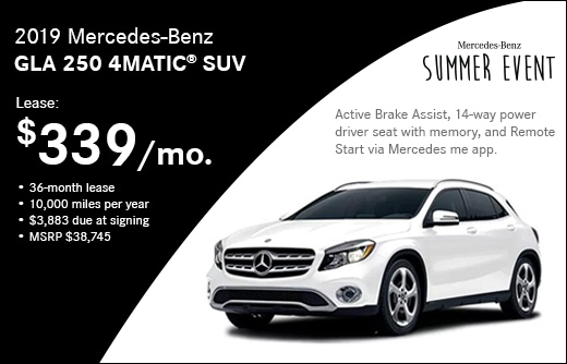 New Specials - Manchester, NH | Mercedes-Benz of Manchester