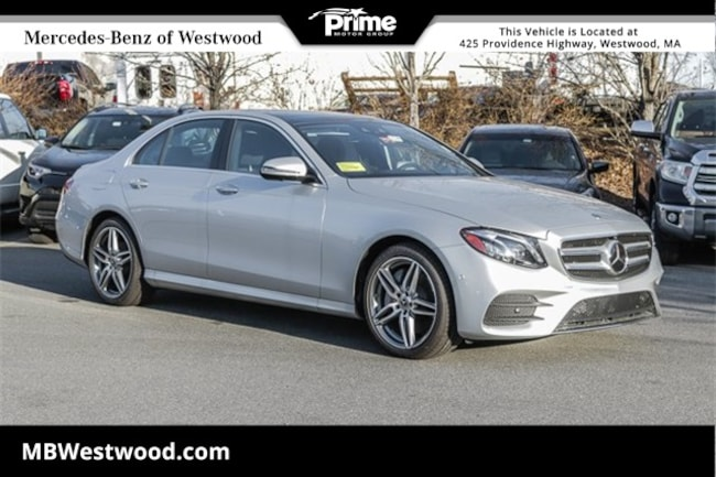 2018 Mercedes-Benz E 300 4MATIC Sedan E 300 4MATIC SEDAN