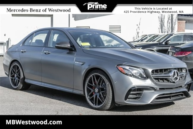2019 Mercedes-Benz AMG E 63 S Sedan S 4MATIC SEDAN