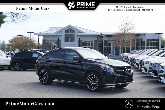 Certified Used  2019 Mercedes-Benz AMG GLE 43 4MATIC Coupe in Scarborough, ME