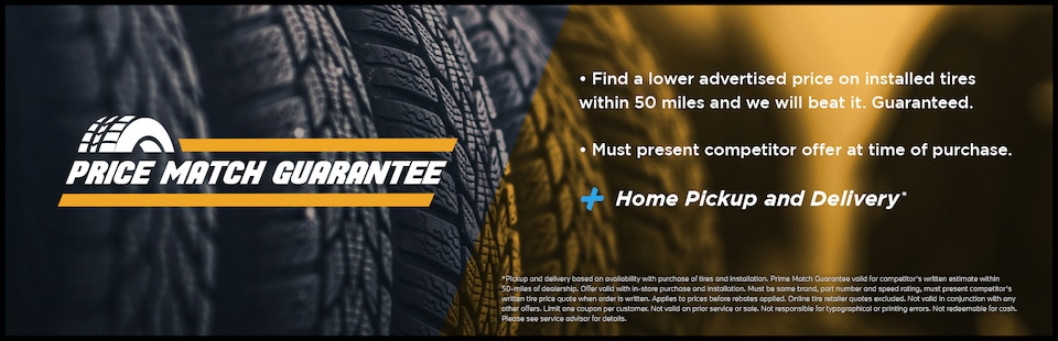 Tire Price Match Guarentee