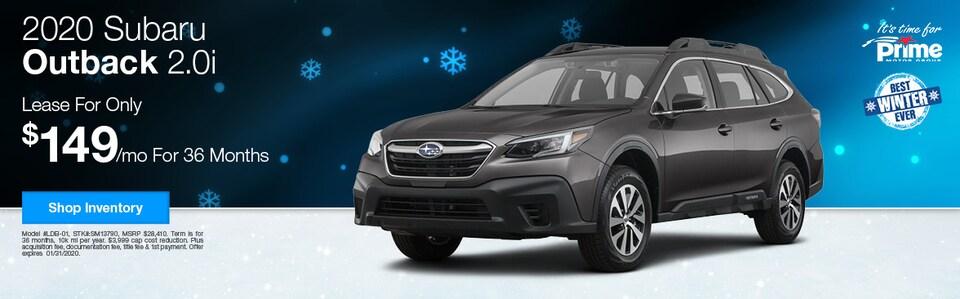 2020 Subaru Outback 2.0i