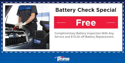Get a free battery check