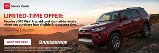 Toyota Tire Mail-In Rebate