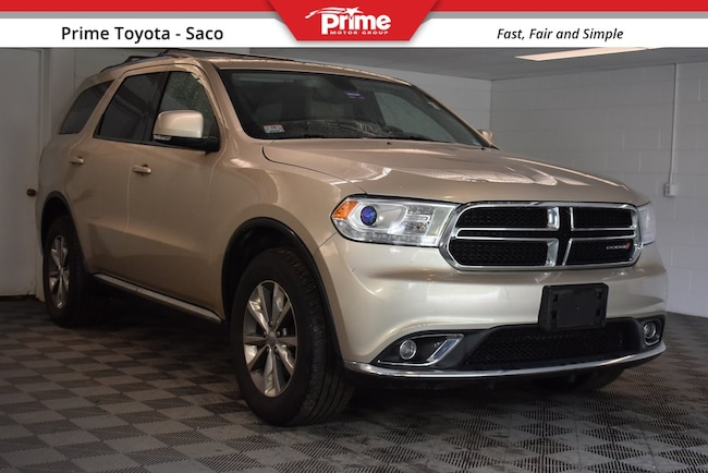 2014 Dodge Durango For Sale >> Used 2014 Dodge Durango For Sale At Mercedes Benz Of Hanover Vin 1c4rdjdg3ec530980
