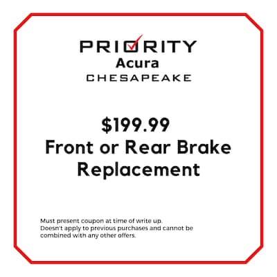 $199.99 Front or Rear Brake Replacement