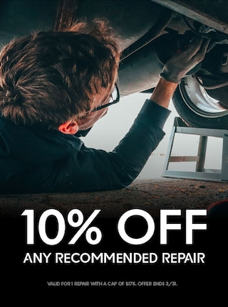 15% of Any 1 Recommended Repair