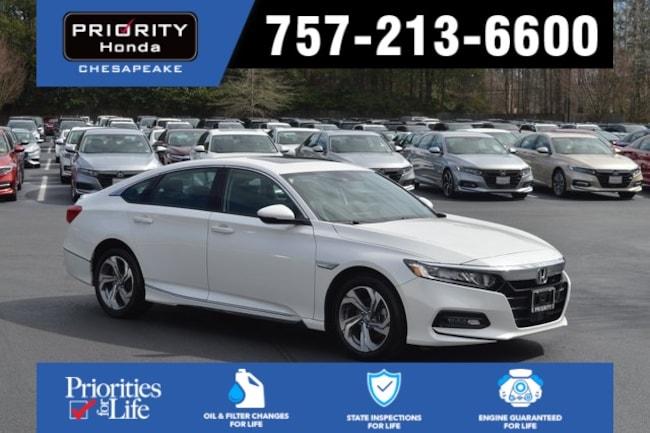 New 2018 Honda Accord EX-L Sedan in Chesapeake, VA