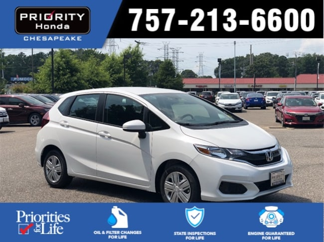New 2019 Honda Fit LX Hatchback in Chesapeake, VA