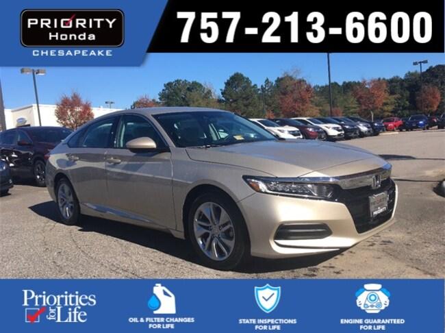 New 2018 Honda Accord LX Sedan in Chesapeake, VA