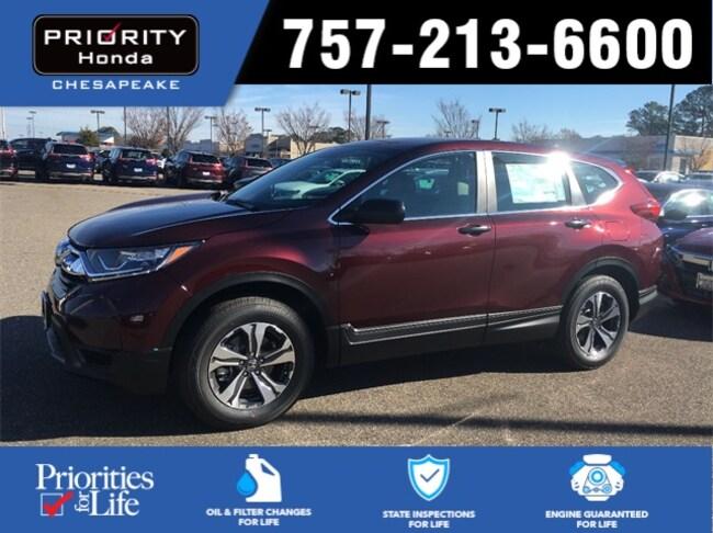 New 2018 Honda CR-V LX AWD SUV in Chesapeake, VA