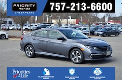New 2019 Honda Civic LX Sedan in Chesapeake, VA