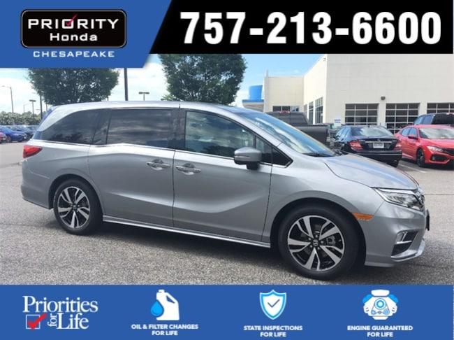 New 2018 Honda Odyssey Elite Van in Chesapeake, VA
