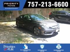 Certified Pre-Owned 2018 Honda Civic EX-L Coupe H845870 in Chesapeake, VA