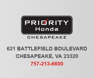 Thank You For Stopping By Priority Honda! We Have Three Convenient  Locations In Virginia And One In Huntersville, NC. Our Honda Dealerships  Specialize In ...