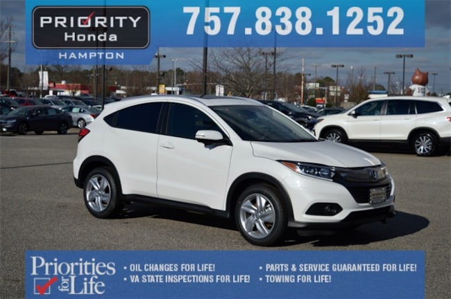 New 2019 Honda HR-V EX-L 2WD SUV in Hampton, VA