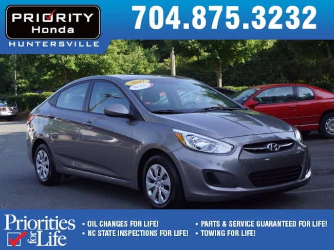 Used 2017 Hyundai Accent SE Sedan Huntersville NC