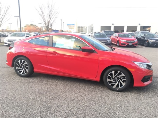 New 2018 Honda Civic LX Coupe Huntersville NC