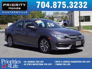 Certified Pre-Owned 2016 Honda Civic EX Sedan HP216803 Huntersville, NC