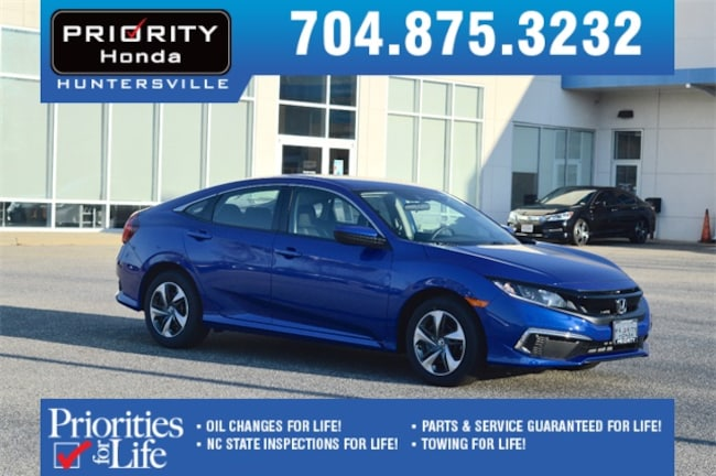 New 2019 Honda Civic LX Sedan Huntersville NC