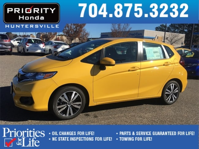 New 2019 Honda Fit EX Hatchback Huntersville NC