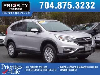 Certified Pre-Owned 2016 Honda CR-V EX-L SUV HT668155 Huntersville, NC