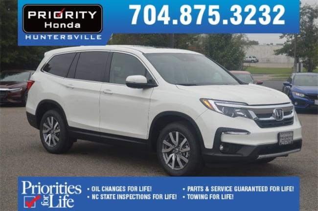 New 2019 Honda Pilot EX-L w/Navi & RES FWD SUV Huntersville NC