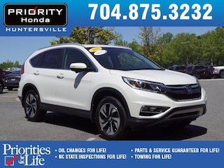 Certified Pre-Owned 2016 Honda CR-V Touring AWD SUV HP026443 Huntersville, NC