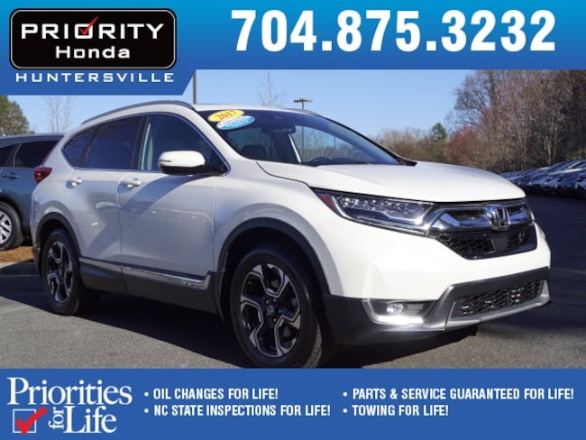 Certified Pre-Owned 2017 Honda CR-V Touring 2WD SUV Huntersville