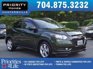 Certified Pre-Owned 2016 Honda HR-V EX-L w/Navigation FWD SUV HP724493 Huntersville, NC