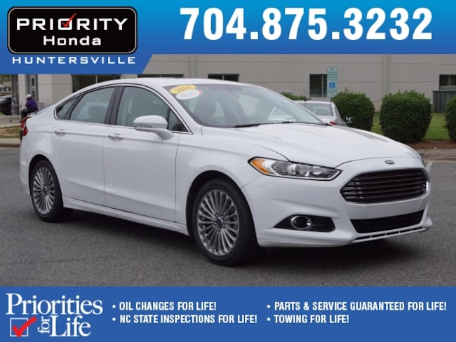 Used 2015 Ford Fusion Titanium Sedan Huntersville NC