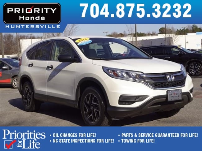 Certified Pre-Owned 2016 Honda CR-V SE AWD SUV Huntersville