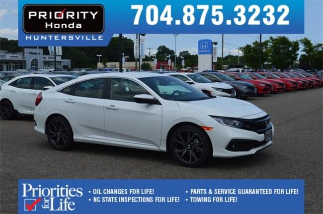 New 2019 Honda Civic Sport Sedan Huntersville NC