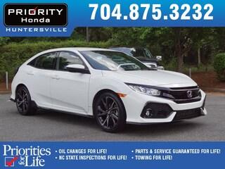 Certified Pre-Owned 2017 Honda Civic Sport Hatchback HT227493 Huntersville, NC