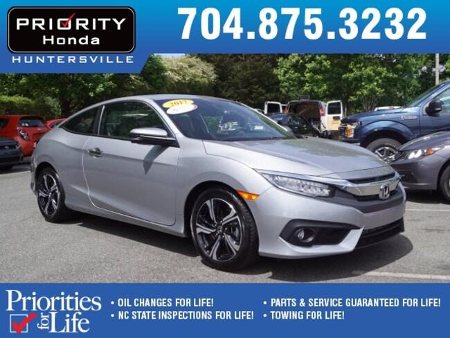 New 2017 Honda Civic Touring Coupe Huntersville NC