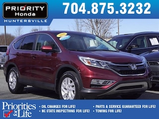 Certified Pre-Owned 2016 Honda CR-V EX FWD SUV HT561363 Huntersville, NC