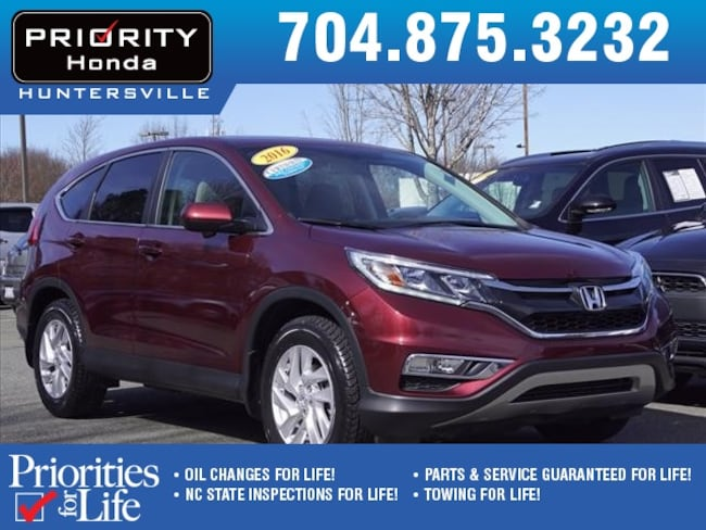 Certified Pre-Owned 2016 Honda CR-V EX FWD SUV Huntersville