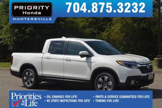 New 2019 Honda Ridgeline RTL-T FWD Truck Crew Cab Huntersville NC