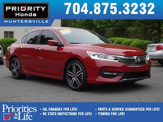 Certified Pre-Owned 2017 Honda Accord Sport Sedan HT138385 Huntersville, NC