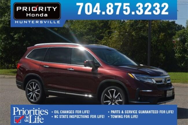 New 2019 Honda Pilot Elite AWD SUV Huntersville NC